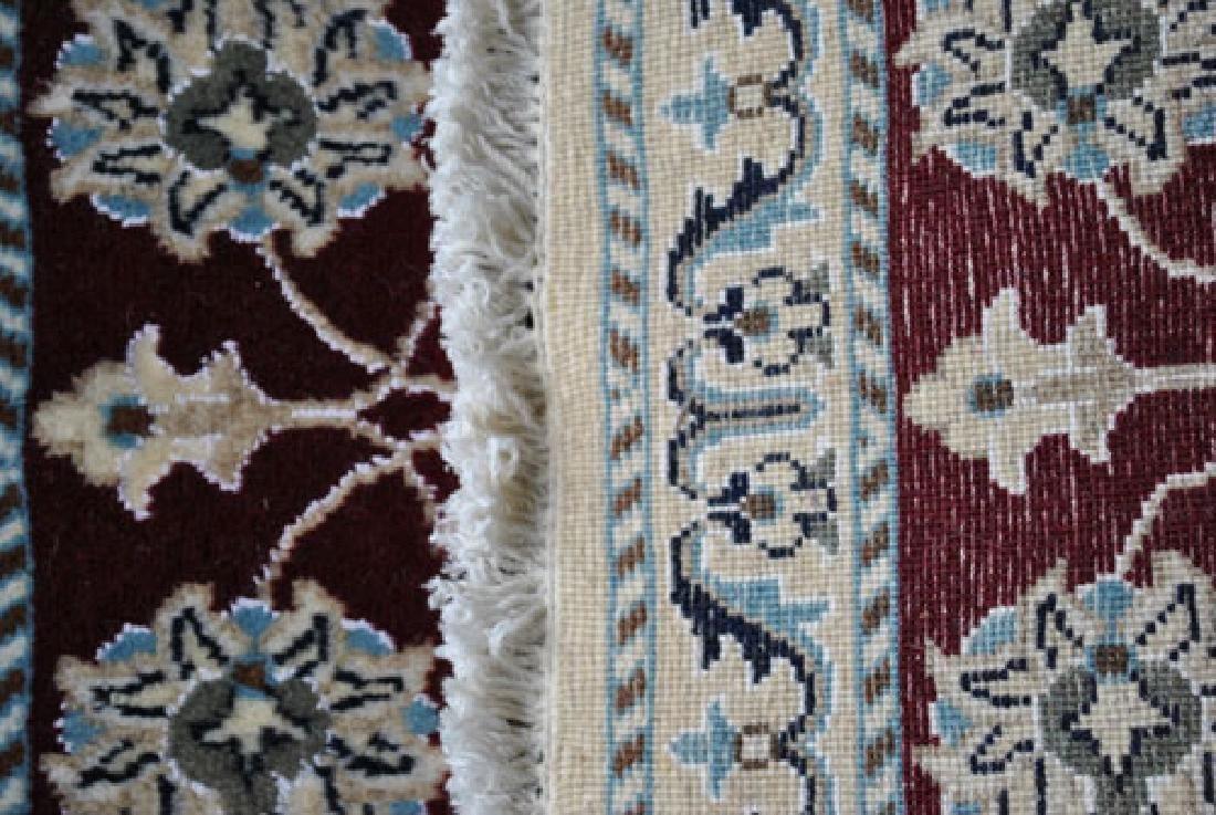 Part Silk Hand Woven Persian Nain Rug 2x3 - 4