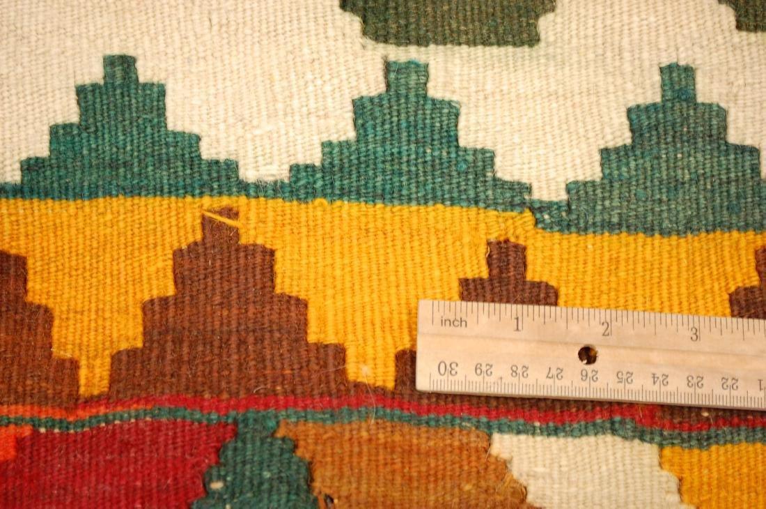 Fine Azarbijan Flat Woven Rug 4.10x7.10 - 9