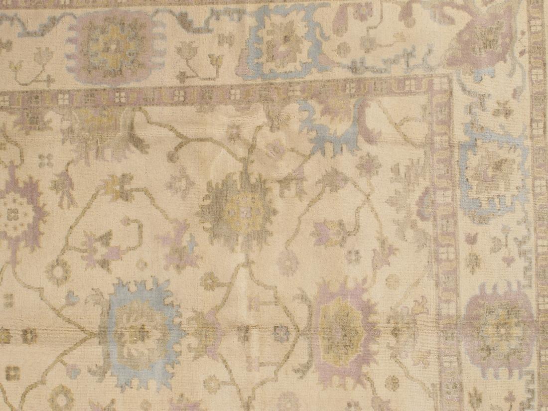 Handmade Wool Oushak Rug 9x12 - 4