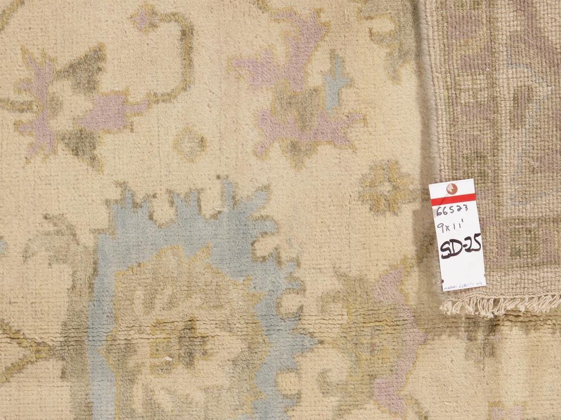 Handmade Wool Oushak Rug 9x12 - 5