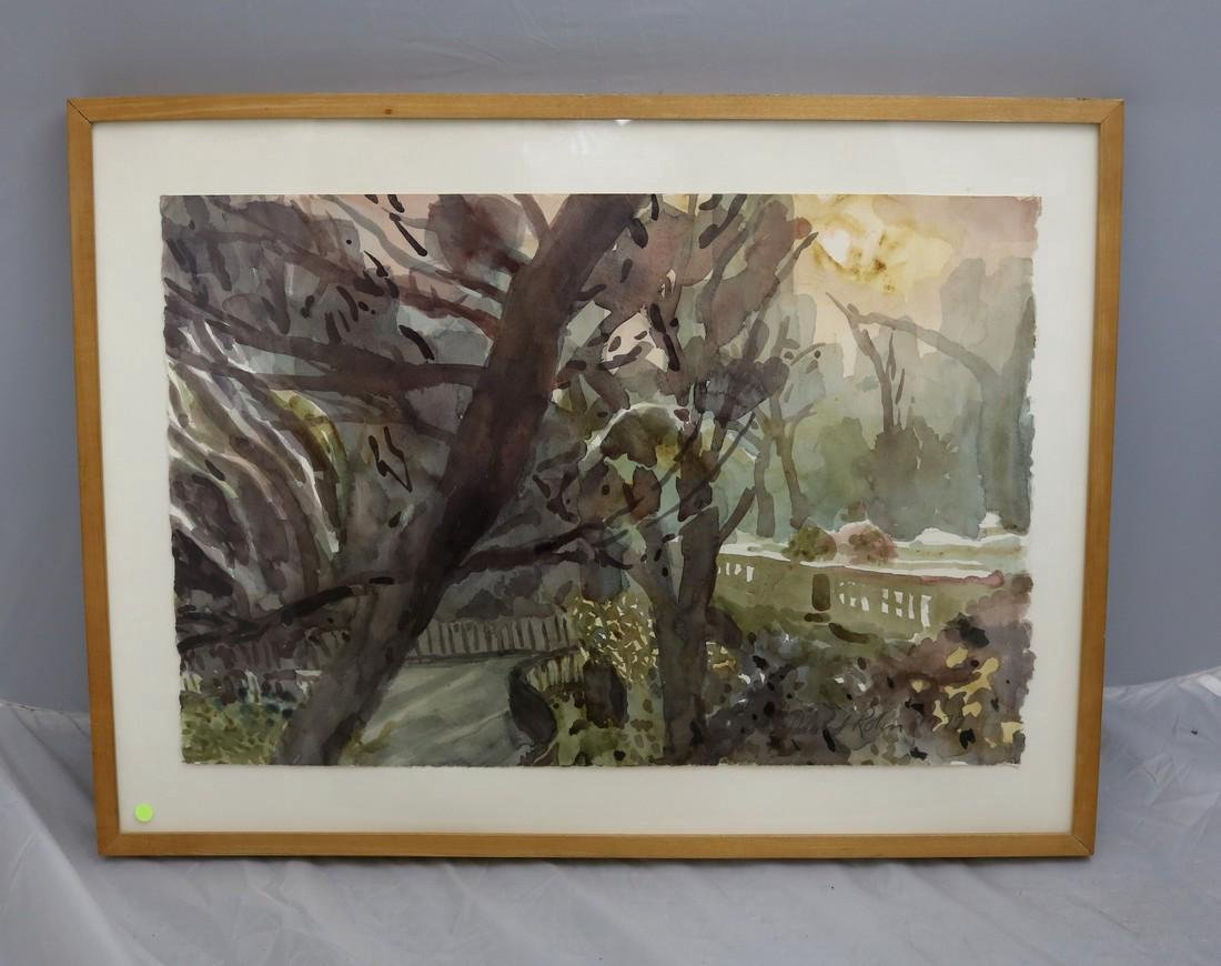 Original Watercolor by David Rohn