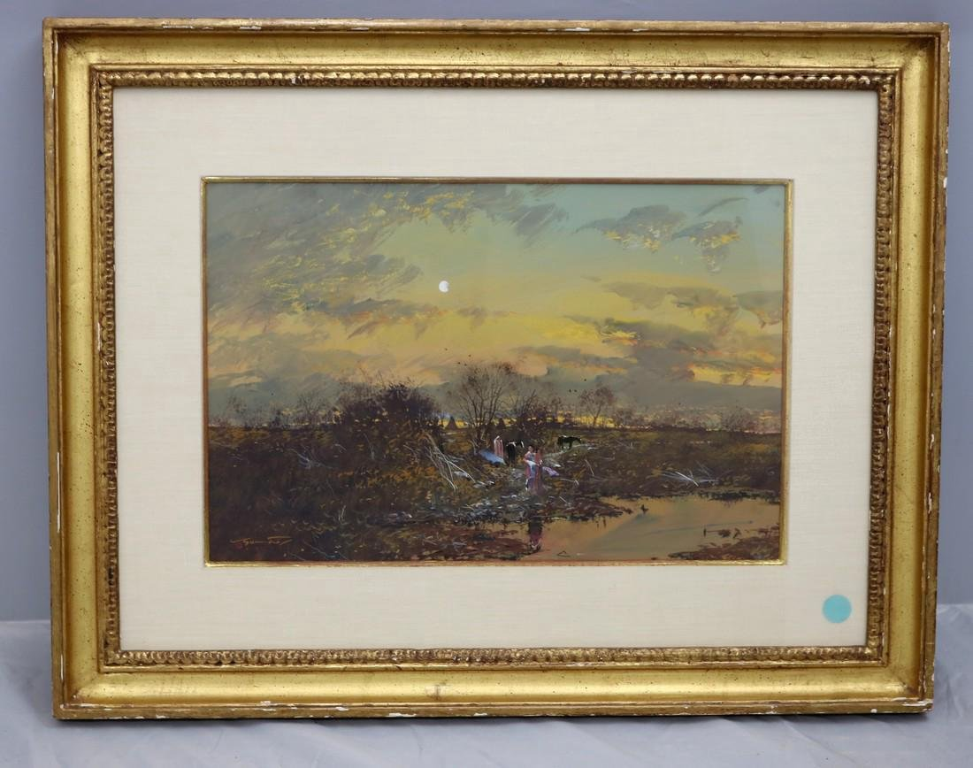 Gregory Sumida Oil Painting