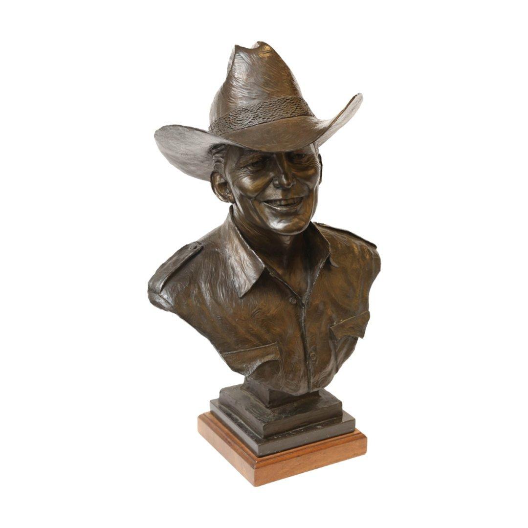 Bust of Edd Hayes