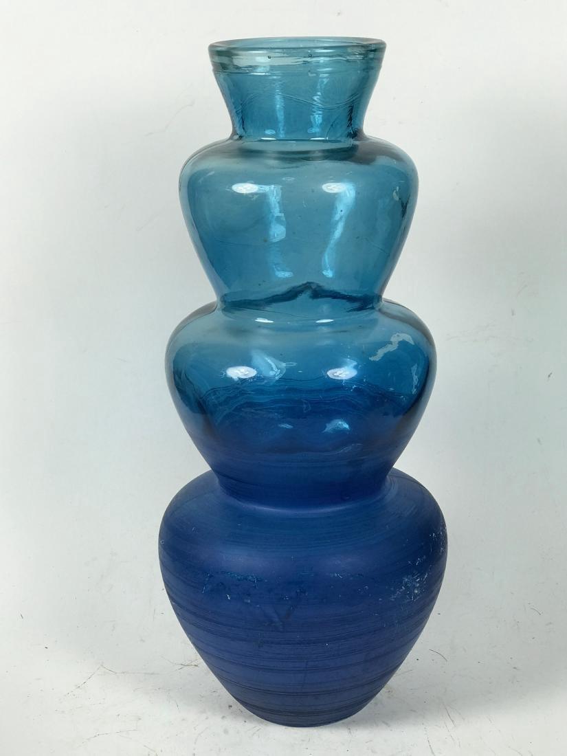 Italian Blue Colour Flower Vase
