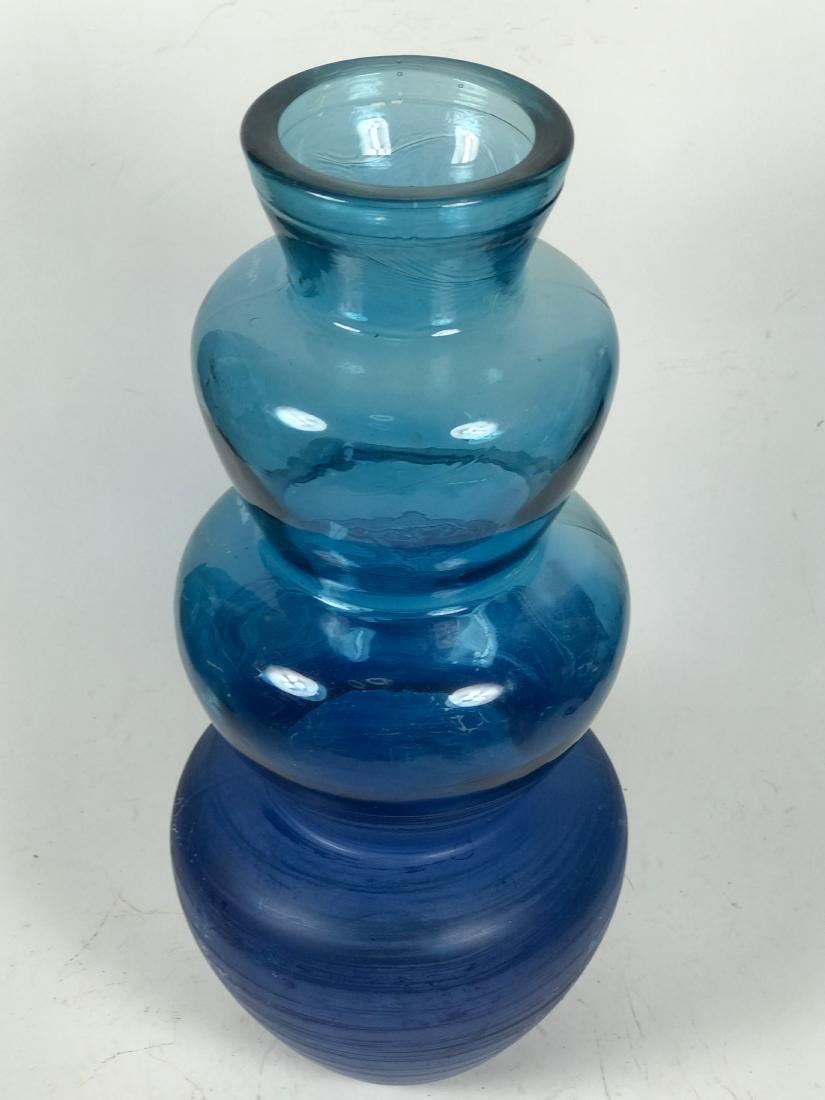 Italian Blue Colour Flower Vase - 5