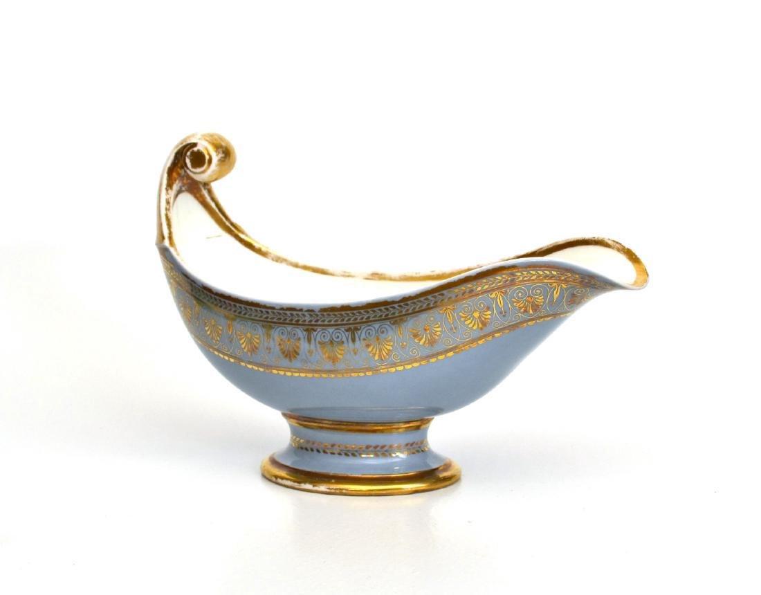 Napoleon III Sevres Sauceboat