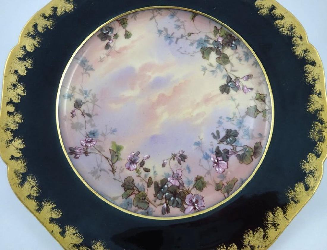 12 Antique Haviland & Co. Limoges Dessert Plates c1880s - 4