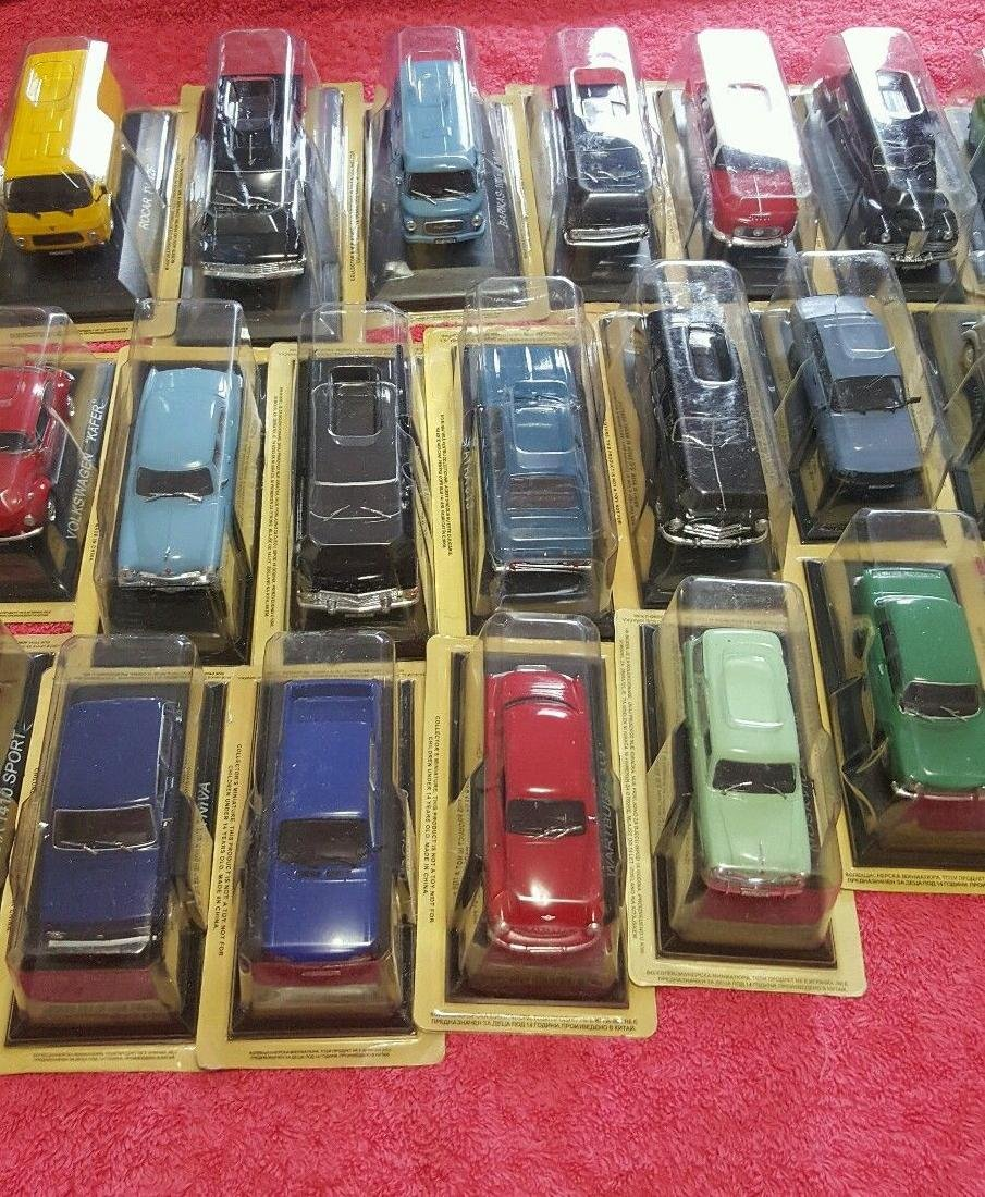 Collectibles Miniature Cars Lot Of 58 (Never Opened) - 2