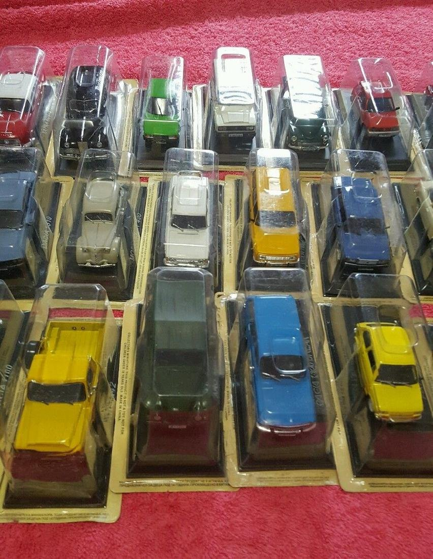 Collectibles Miniature Cars Lot Of 58 (Never Opened) - 3