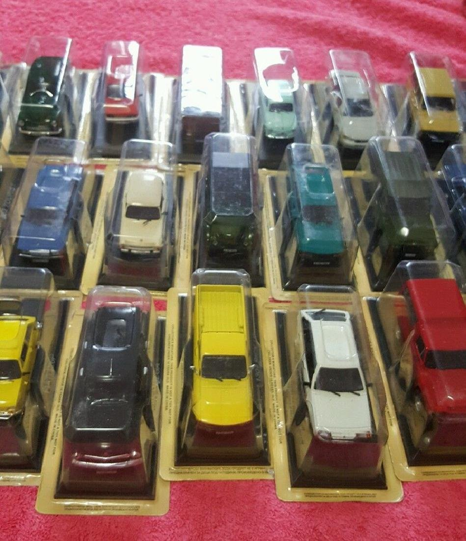 Collectibles Miniature Cars Lot Of 58 (Never Opened) - 4