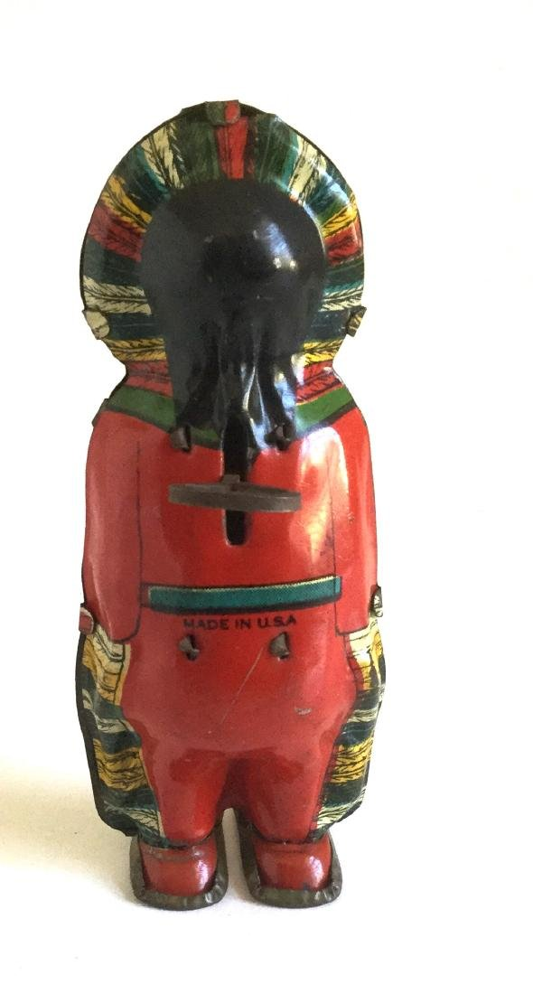Indian Maiden Wind Up Toy - 2