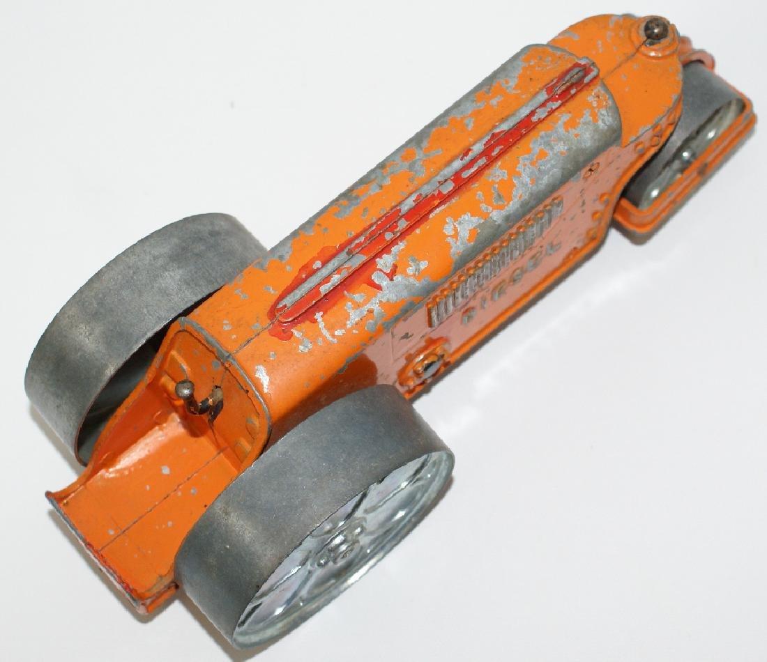 Vintage Diecast HUBLEY Kid Toy #480 DIESEL STEAMROLLER - 3