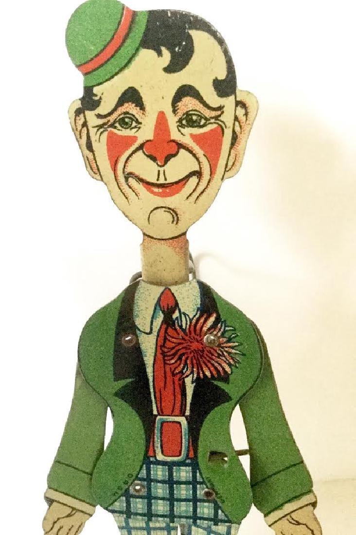 "Tin ""Charlie Chaplin"" Dancing Toy - 2"