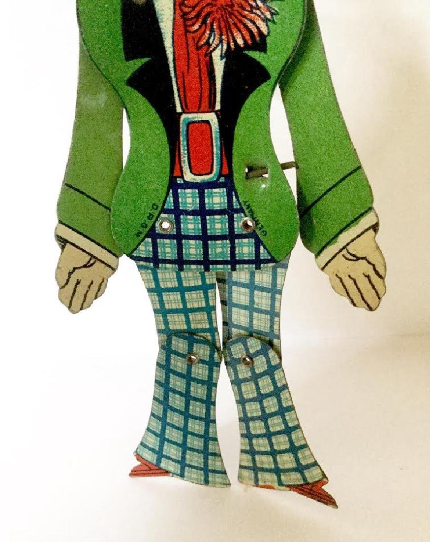 "Tin ""Charlie Chaplin"" Dancing Toy - 3"