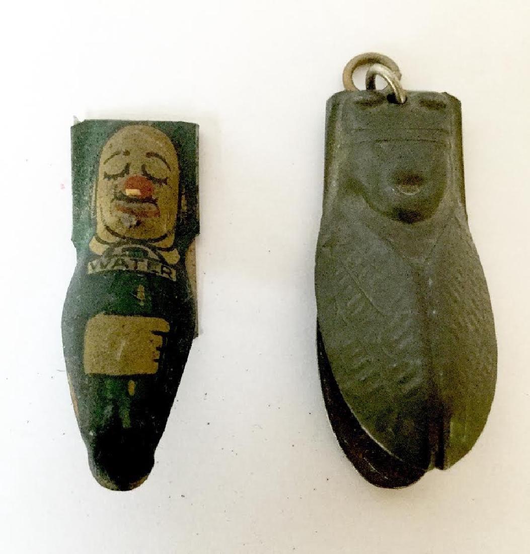 Two Tin Clicker Toys - 3