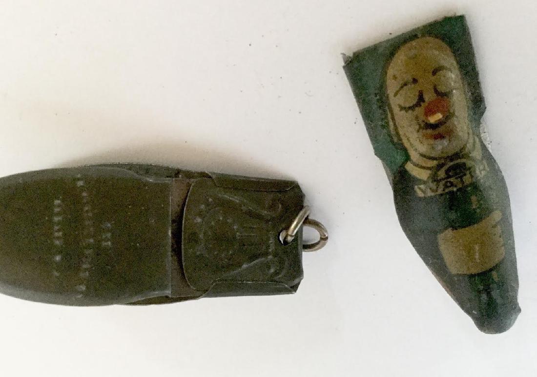 Two Tin Clicker Toys - 5