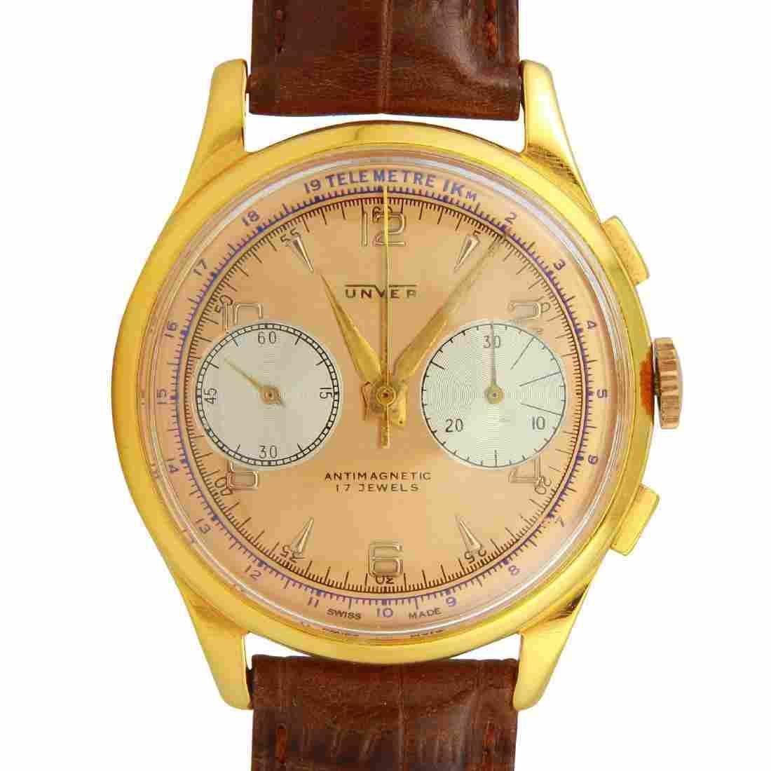 Vintage Unver Chronograph Argentian Air Forces Watch