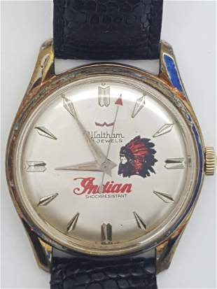 A Vintage Waltham Indian Swiss Automatic Men's Watch