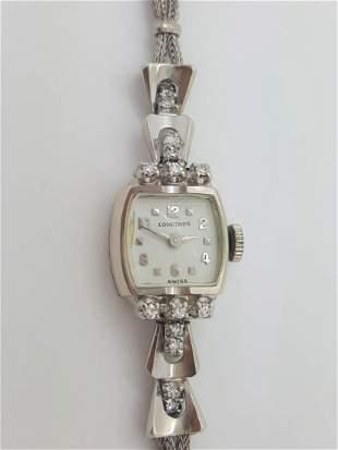 A Vintage Ladies Longines 14k Gold Ladies Watch