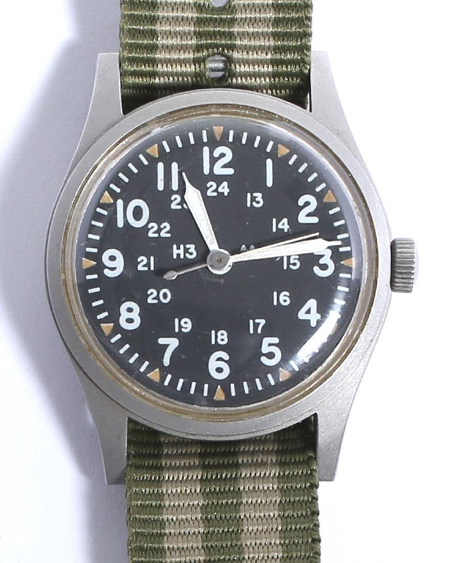 Vintage 1981 Hamilton B-type Military Field Watch