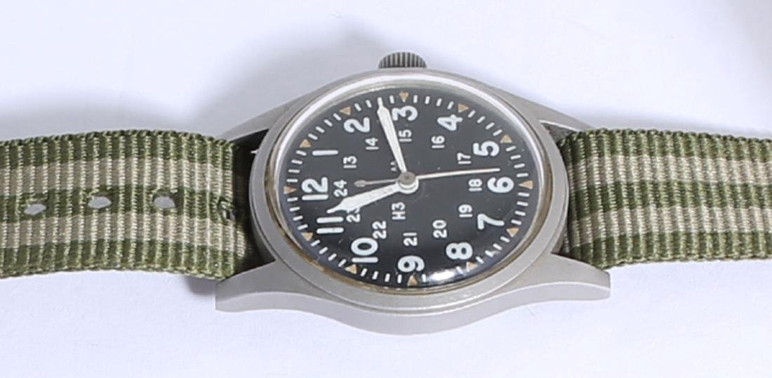 Vintage 1981 Hamilton B-type Military Field Watch - 2