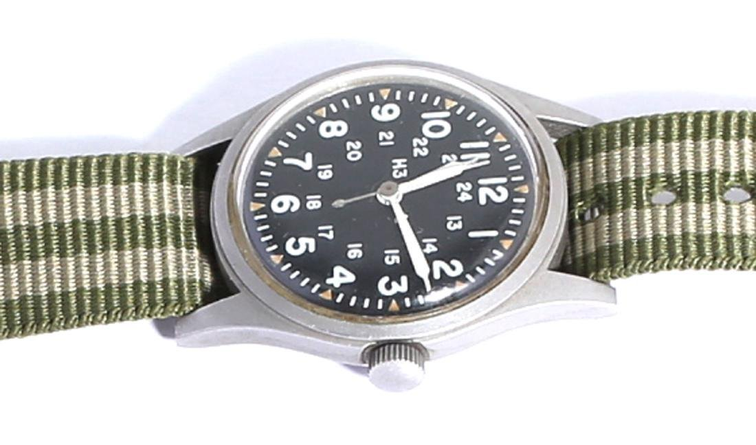 Vintage 1981 Hamilton B-type Military Field Watch - 3