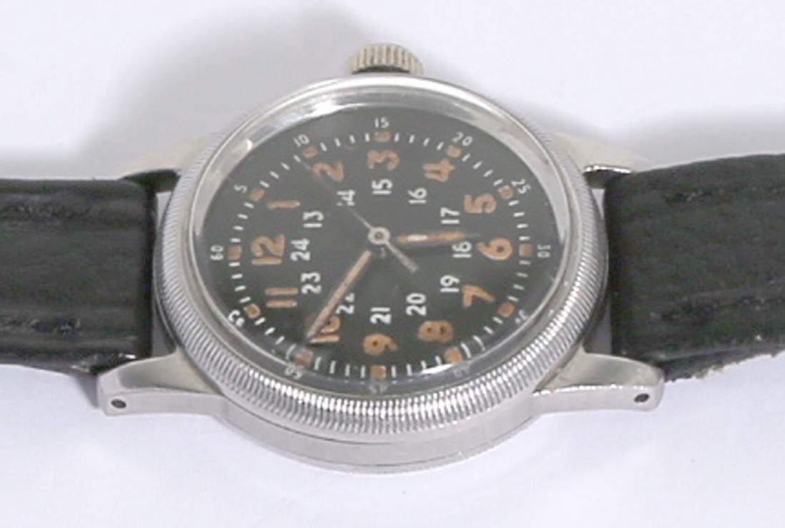 Waltham Type A-17 Military Naviagation Hack Watch - 2