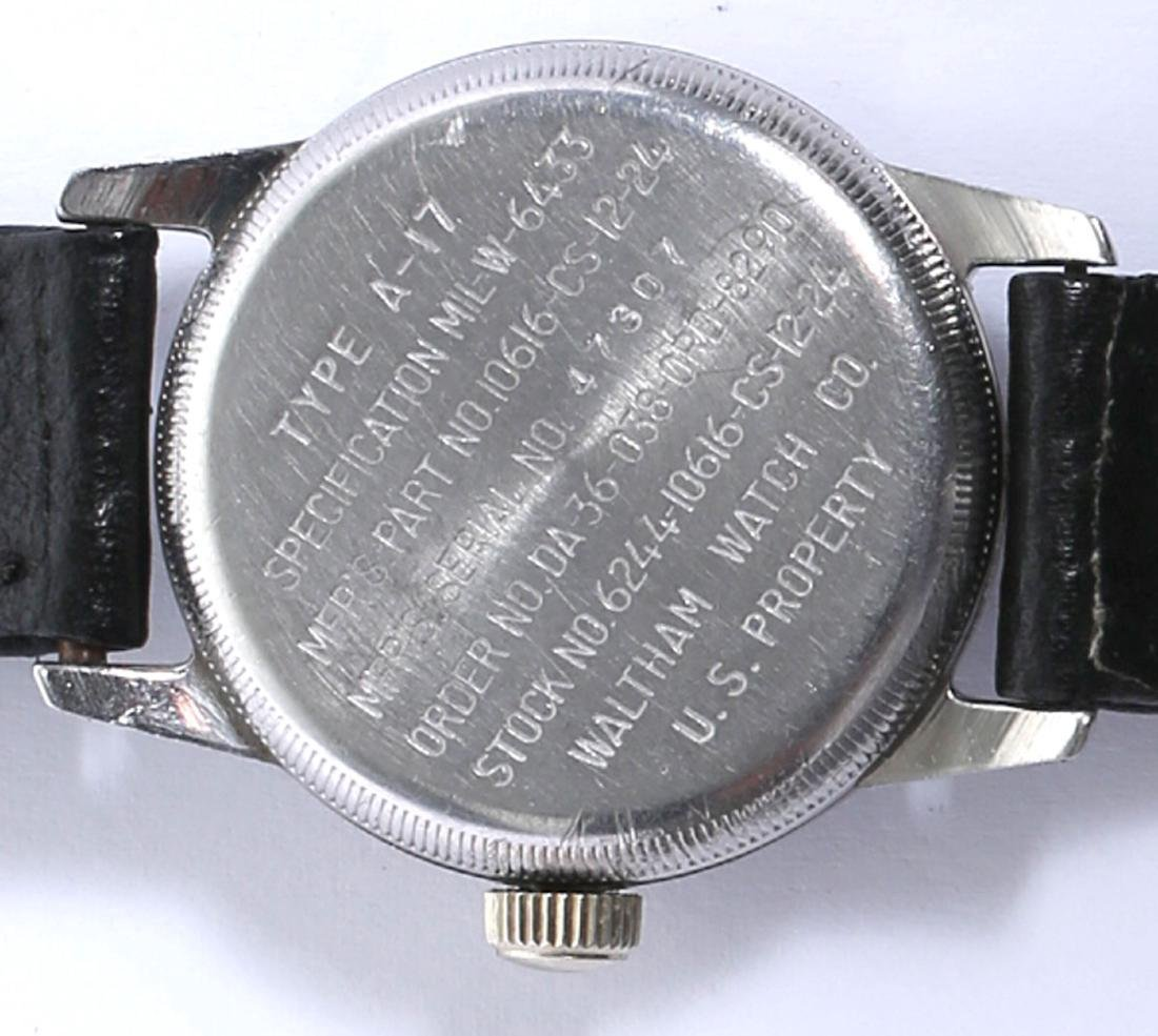 Waltham Type A-17 Military Naviagation Hack Watch - 5