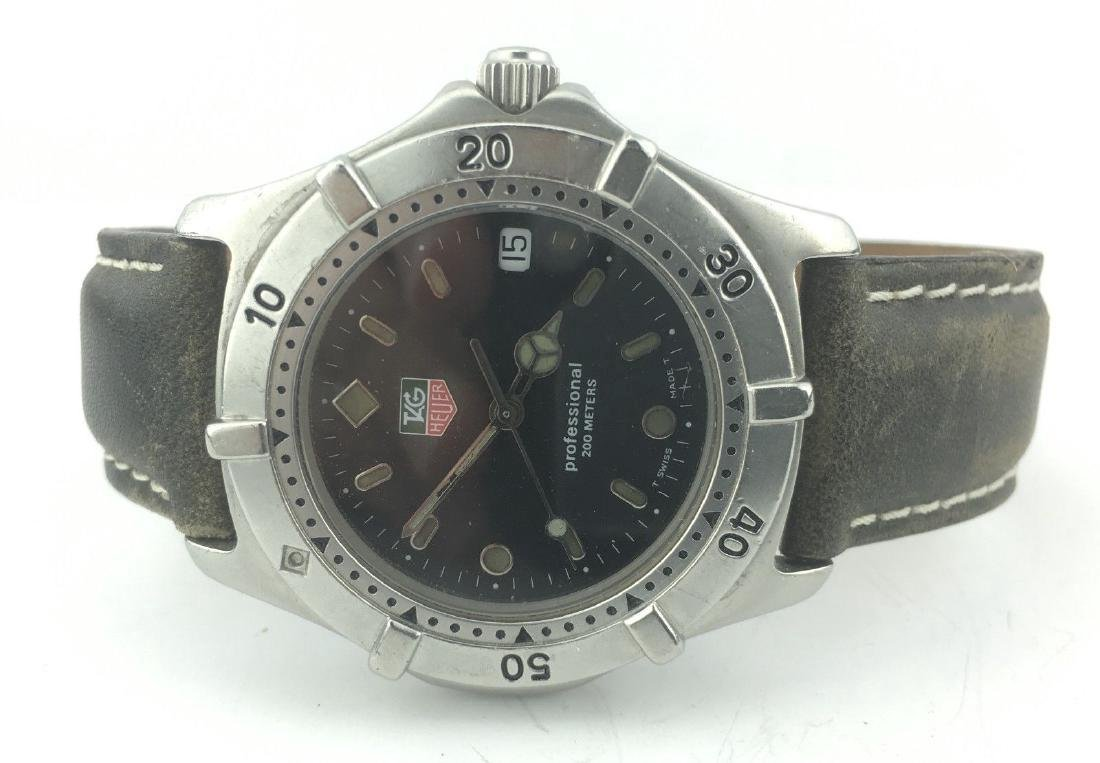 Tag Heuer Professional 200m Black Dial Watch - 4