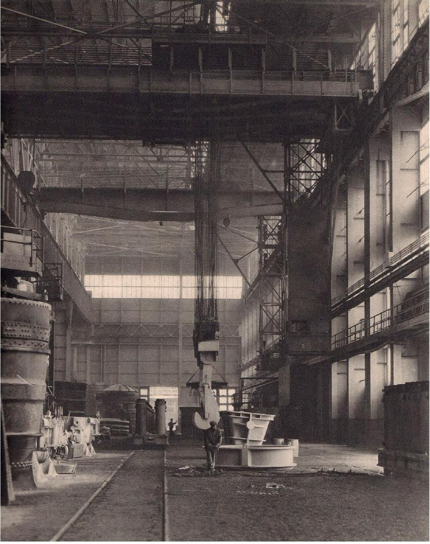 CHARLES SHEELER - Open Hearth  Ford Plant