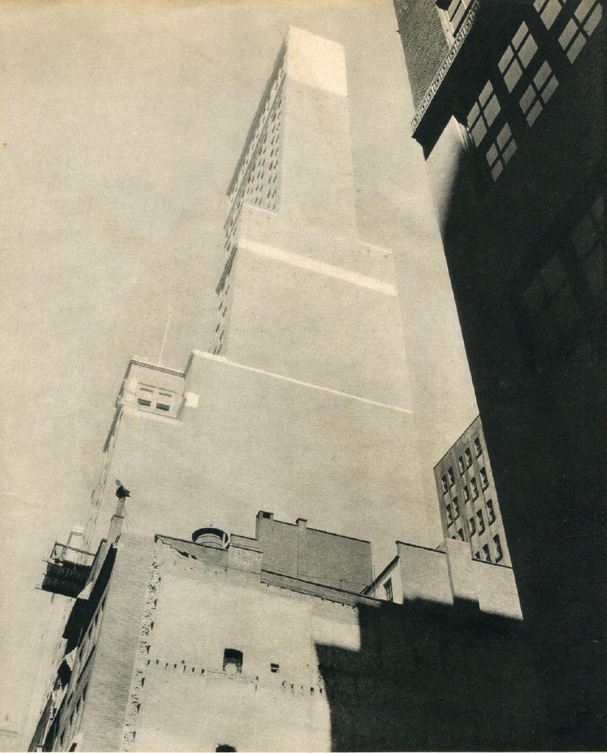 CHARLES SHEELER - Delmonico Building, NY