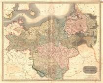 Thomson: Map of Prussian Dominions, 1817