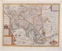 Hondius Map of Asia, 1606