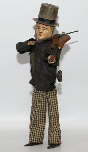 Vintage French 1897 FERDINAND MARTIN Violinist Toy