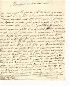 Two 18th C Manuscript Documents in French