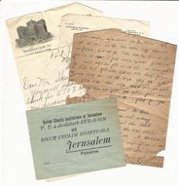 C1930 Group Letters Palestine