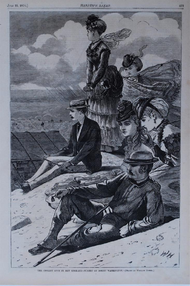 Winslow Homer: Summit of Mt. Washington