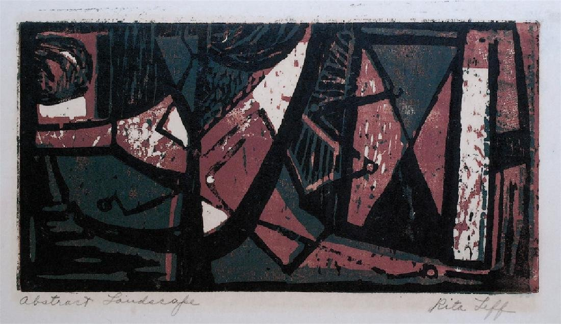 Rita Leff: Abstract Landscape