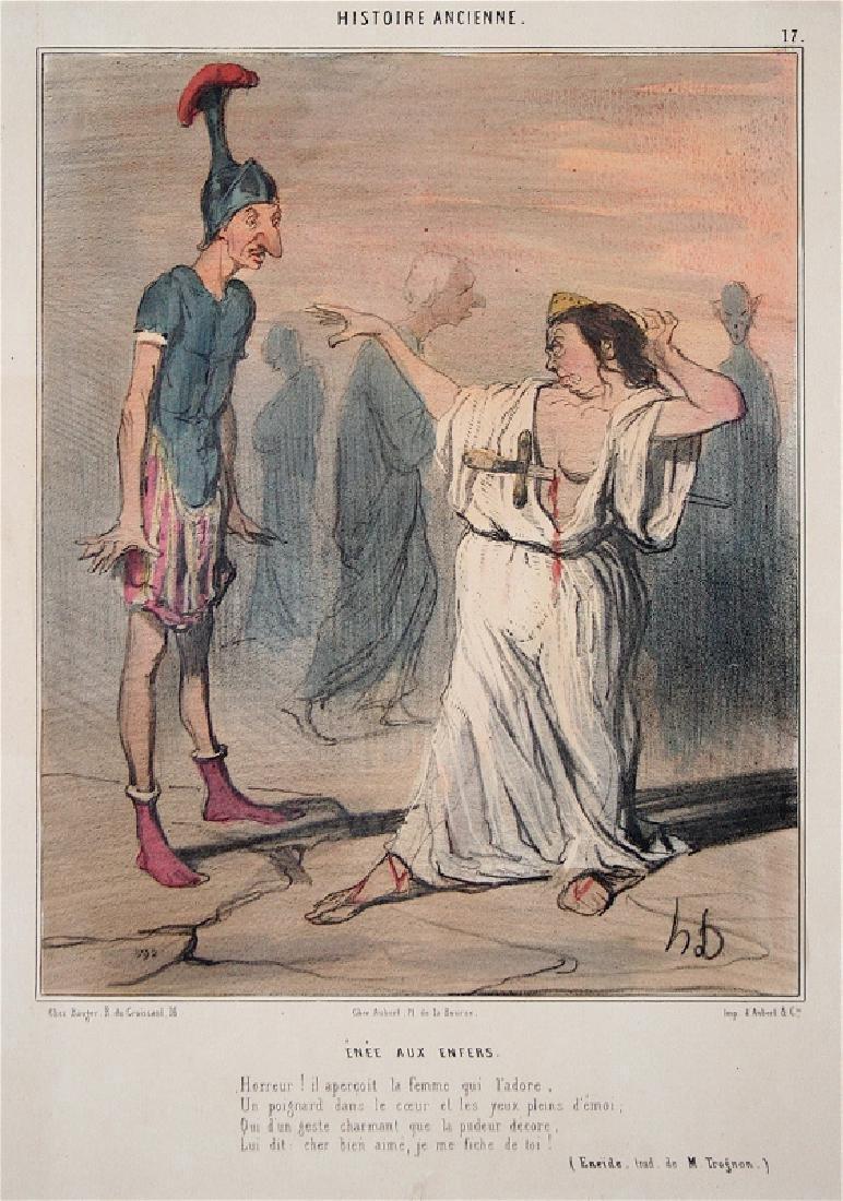 Honore Daumier: Enee Aux Enfers