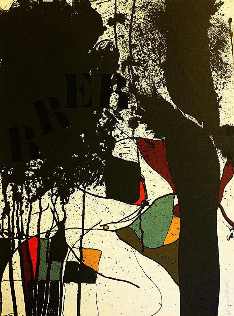 Josep Guinovart: El Meu Carrer Nº 4 Lithograph