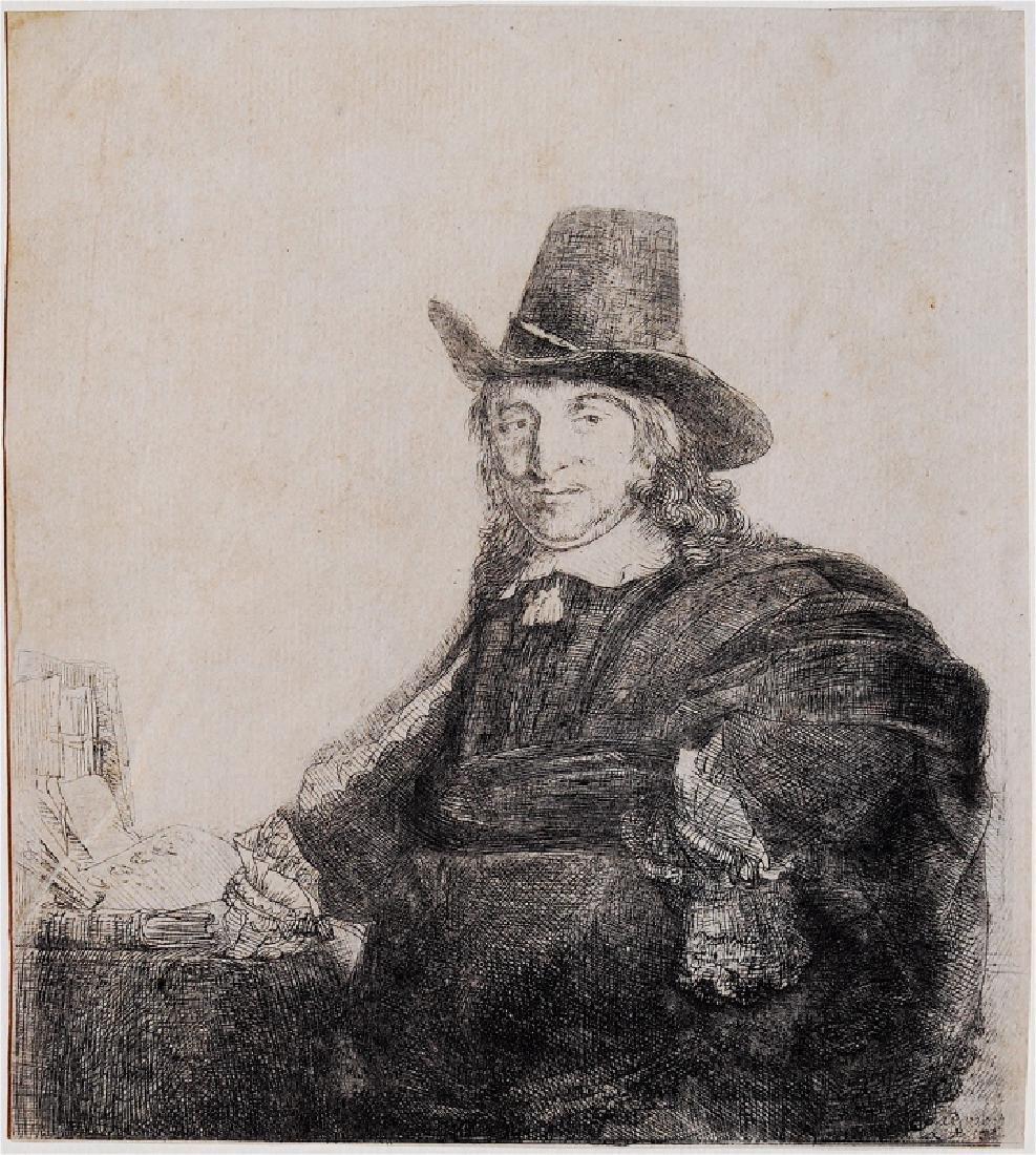 Rembrandt Van Rijn: Jan Asselyn