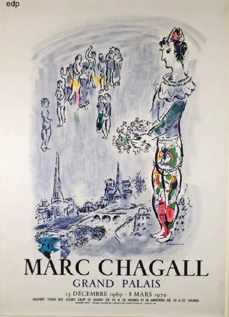 Marc Chagall Grand Palais (the Magician of Paris)