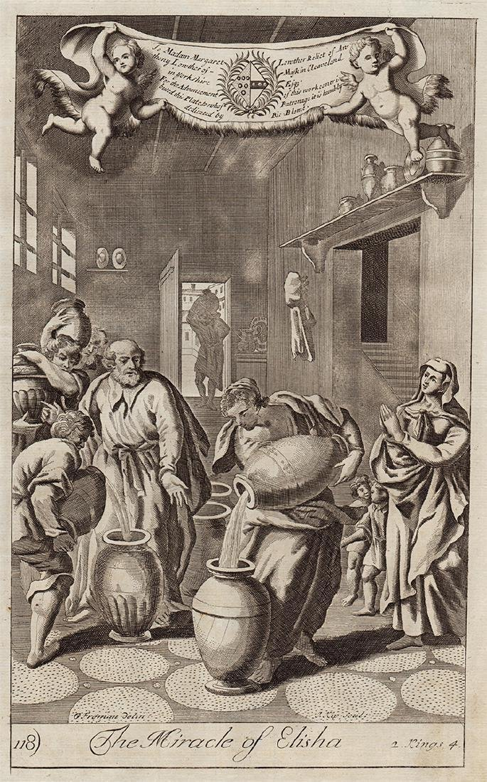 Richard Blome: The Miracle of Elisha, 1753