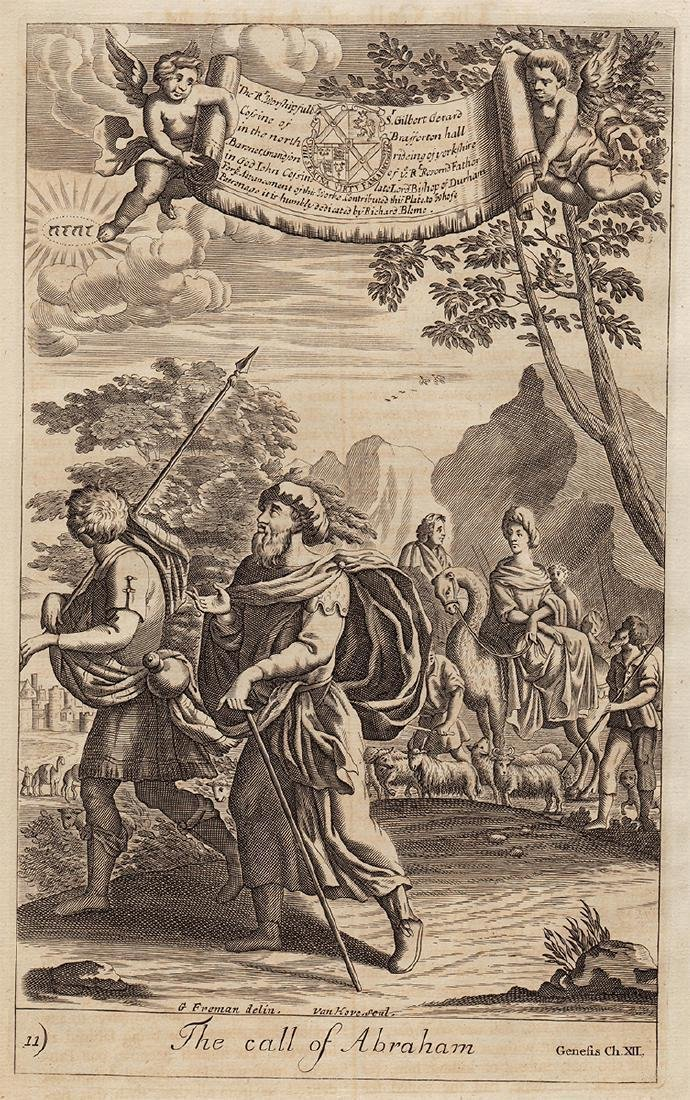 Richard Blome: The Call of Abraham, 1753