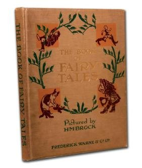 Book Of Fairy Tales By Brock, Henry M. (Illus)