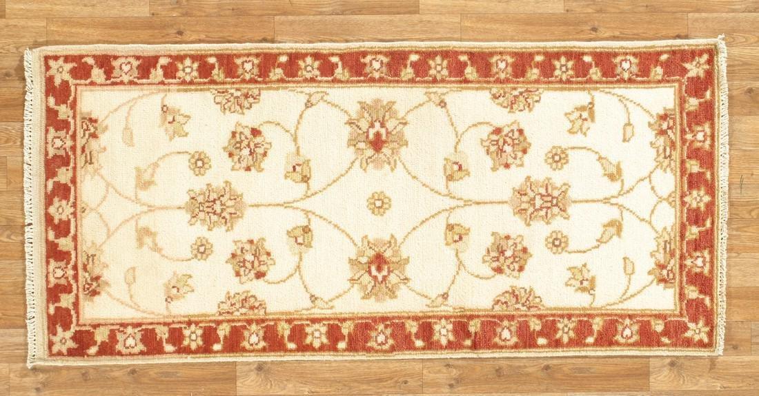 Handmade Wool Indo Chobi Area Rug 2x5