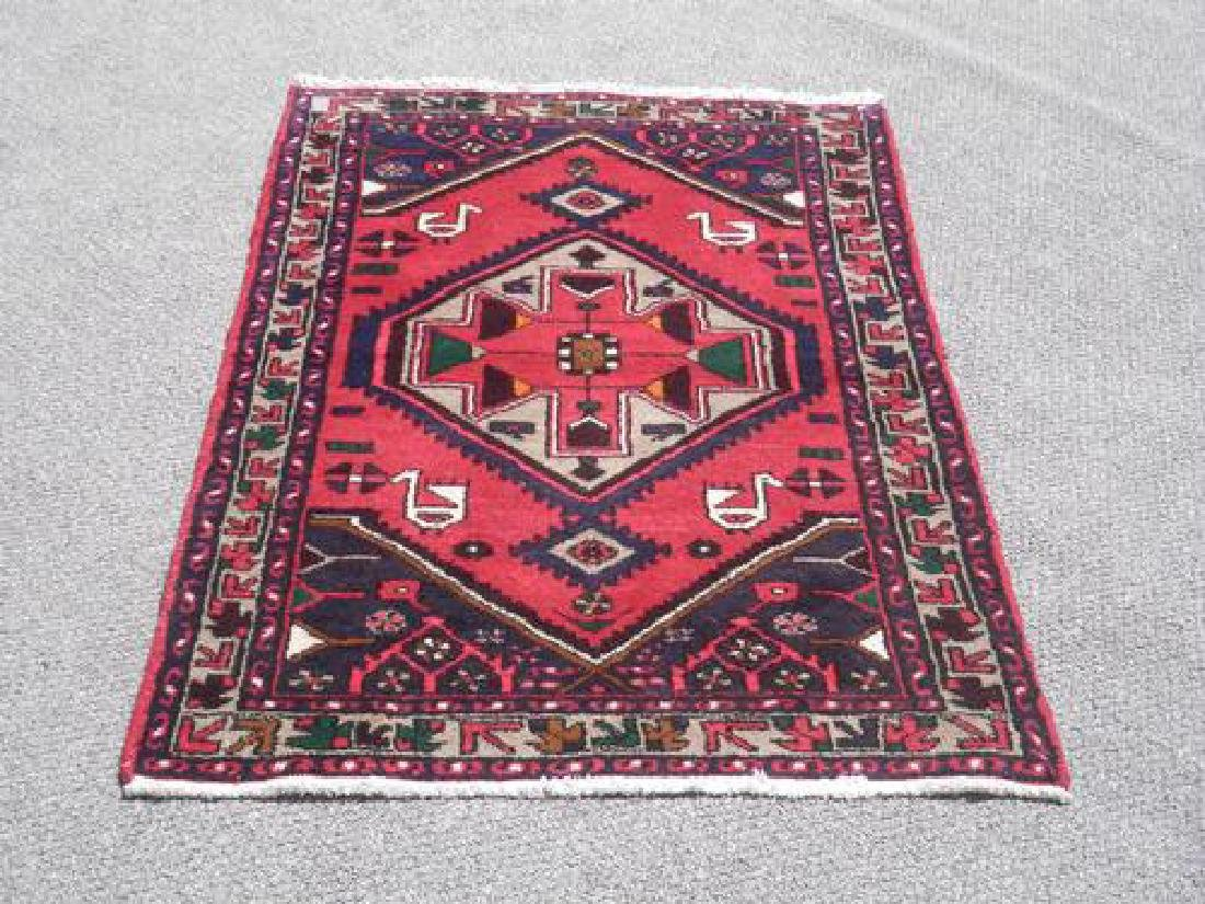 Beautiful Hand Woven Persian Hamadan Rug 4x3
