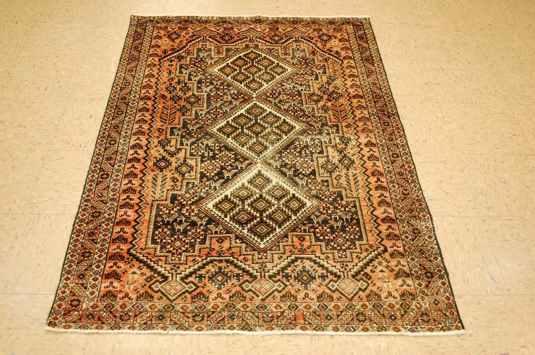 Antique Persian Ferdows Balouch Rug 4x5