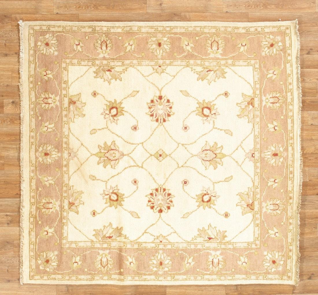 Square Handmade Indo Chobi Area Rug 5x5