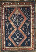 Antique Kazak Rug 4.3 x 5.7